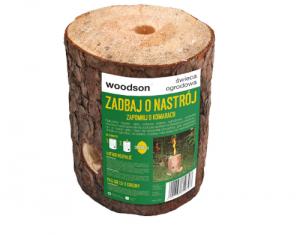 Świeca Ogrodowa Pochodnia Drewniana Antykomarowa